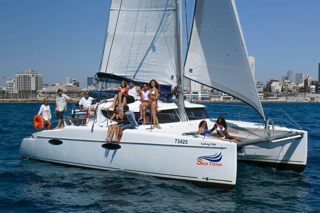Sea Time Catamaran-5037